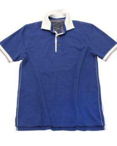 Pique Polo Blue