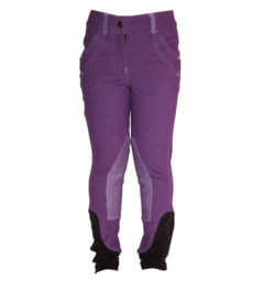 Kids Knitted Breeches Purple