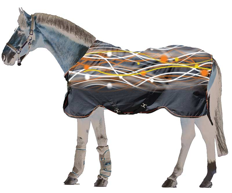 These horse rugs can help to increase your horse's circulation with ionic technology.