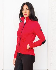 Albina Lady Fleece Red