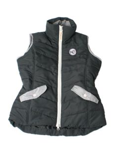 Tara Gilet Dark Shadow