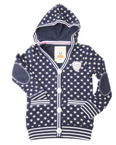 Girls Star Hoody Cardigan
