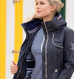 Charlita Parka French Navy