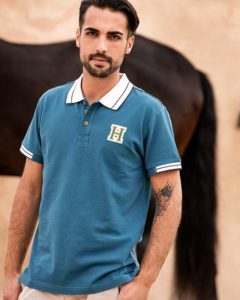 Pique Polo with Buttons