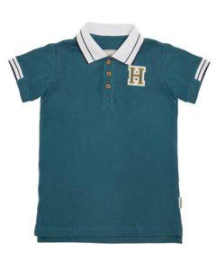 Boys Pique Polo 'H'