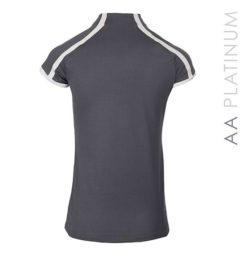 Pula Competition Technical Top Dark Grey by Horseware