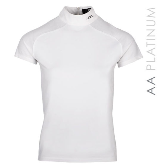 Milena Competition Top with Back Zip