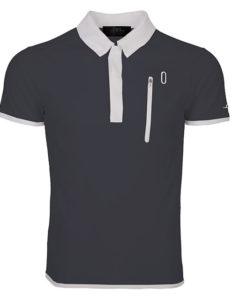 Technical Polo Shirt Dark Grey