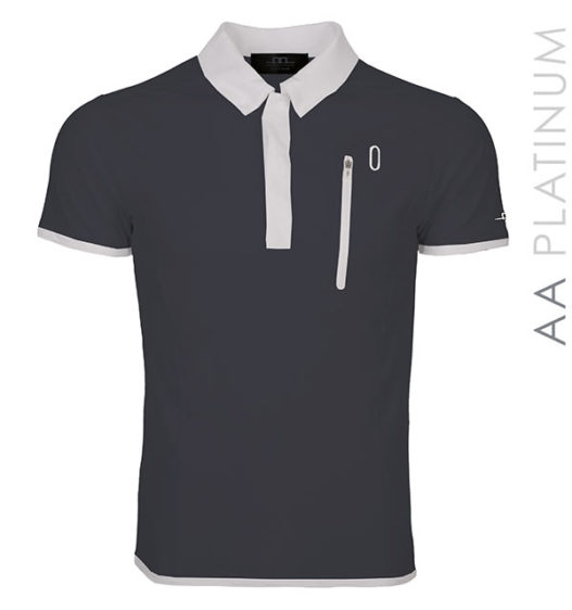 Technical Polo Shirt Dark Grey