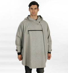 HWH2O Poncho Grey by Horseware