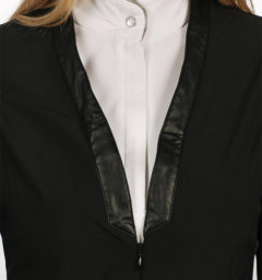 Ladies Collarless Competition Jacket Black