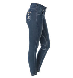 Knee Patch Denim Breeches