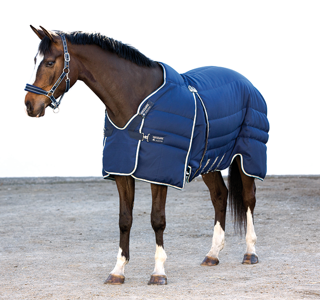Horseware Rambo Stable Plus Stable Blanket with Vari-Layer Heavy 450G-CLOSEOUT