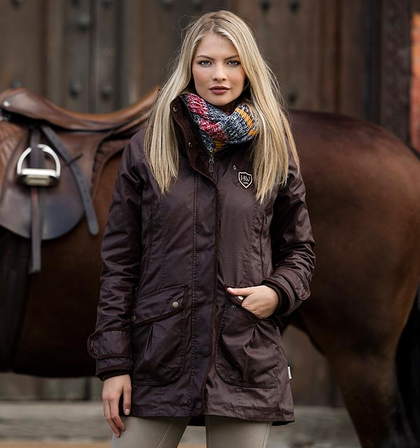 c1158d7ea Elina Parka Winter Jacket - Extremely water repellent and breathable  fabric. - Horseware Ireland