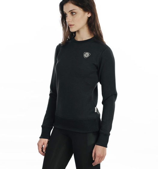 Cara Super Soft Sweatshirt Raven by Horseware