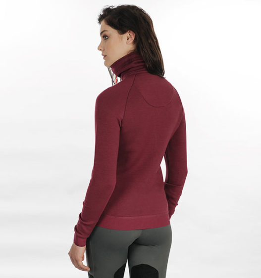 Ida High Neck Zip Top by Horseware