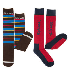 Two Pack Winter Polo Socks by Horseware