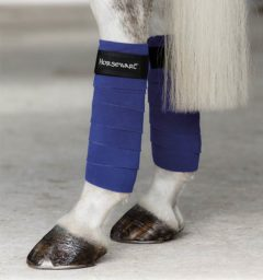 Fleece Bandages Royal Blue by horseware