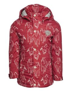 Kids Horse Print Jacket