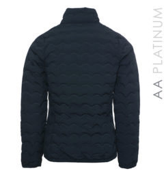 Ladies Cortina Padded Seamless Jacket Navy by Horseware