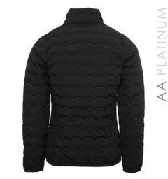 Ladies Cortina Padded Seamless Jacket Black by Horseware