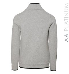 Ladies Barletta Bonded Fleece Jacket Light Grey
