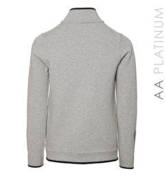 Ladies Barletta Bonded Fleece Jacket Light Grey