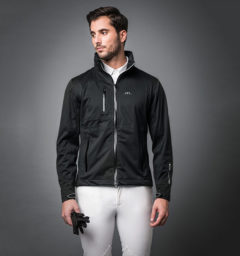 Milis Men Jacket Waterproof Black