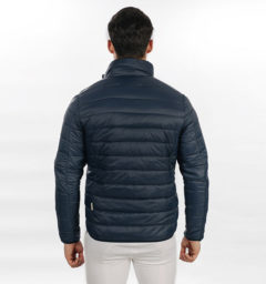 Mens Light Weight Padded Jacket Navy