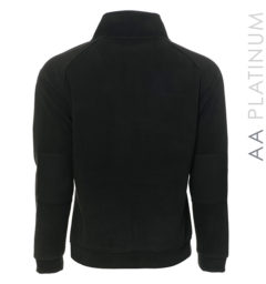 Spoleto Fleece Top Black