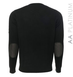 Milano Classic V-Neck Sweater Black