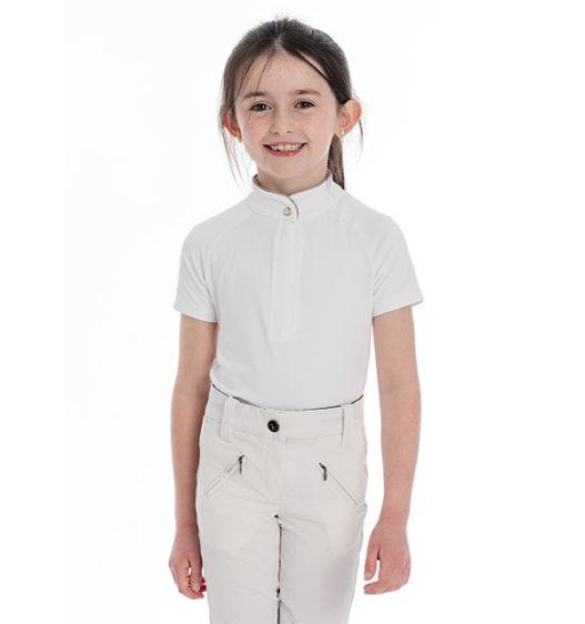 Kids Sara Competition Shirt Short Sleeve