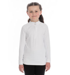 Competition Shirt Long Sleeve White