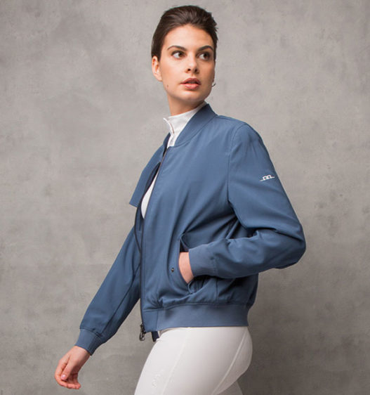 Luxury Silk Blouson