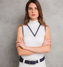 Technical Sleeveless Top