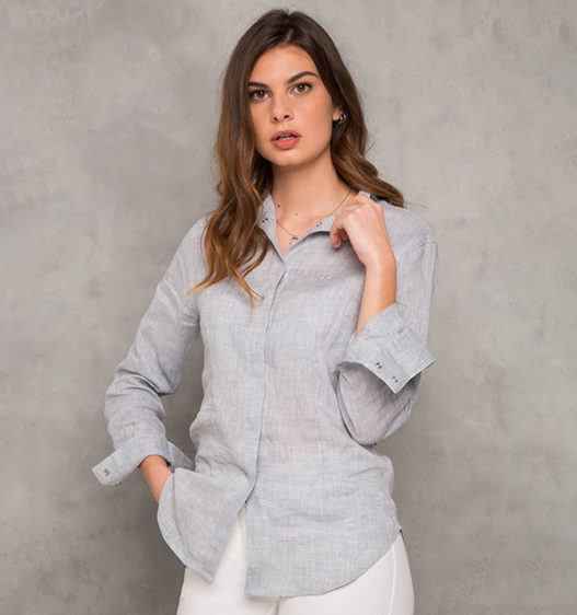 AA Linen Ladies Shirt