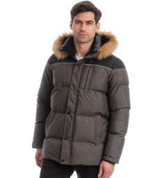 Padded Parka Jacket