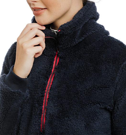 Chiara Cozy 3/4 Zip Top Fleece