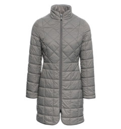 Insula Quilted Long Coat