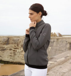Respira Bonded Fleece, Gray