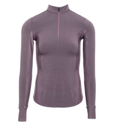 CleanCool Half Zip Top Long Sleeve