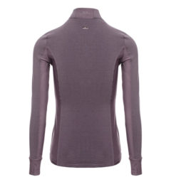 AA CleanCool Ladies LongSleeve Top, antique plum