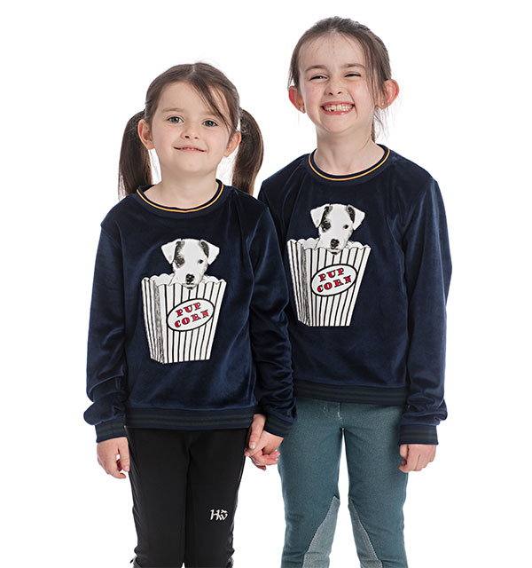 Kids Velvet Touch Crew Neck