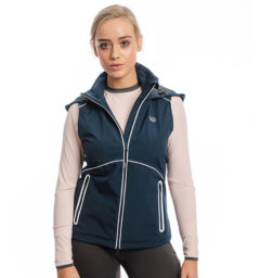 Eliza Waterproof Softshell Vest, Navy