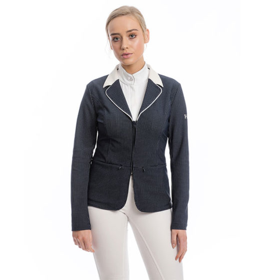 Ladies WeatherTech Competition Jacket, Navy, front view
