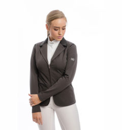 Ladies Flow2 Technical Competition Jacket, Dark Gray