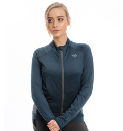 Lane Technical Full Zip Top, Navy/Charcoal