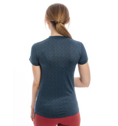 Technical T-Shirt, Navy back view