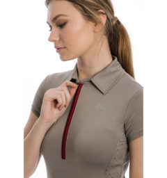 Orla Technical Polo, Silver Cloud