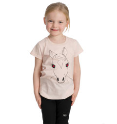 Girl's Novelty Tee - Pink